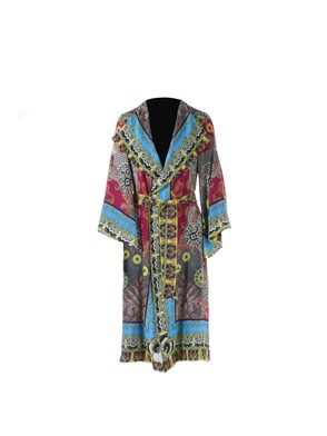 ETRO - MULTICOLOR DUSTER COAT