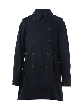 WOOLRICH - TRENCH CPS2567 LM10 300 NAVY