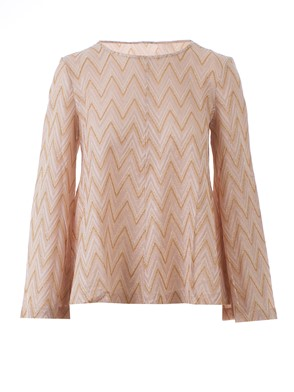 M MISSONI - T-SHIRT PD3MG23 117 52N1 ROSA