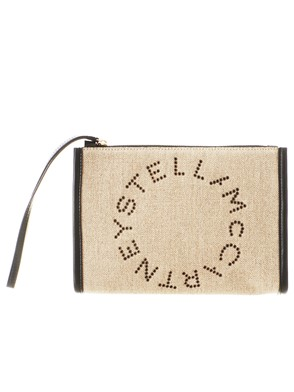 STELLA McCARTNEY - 502892 W8251 9700 CLUTCH LOGO