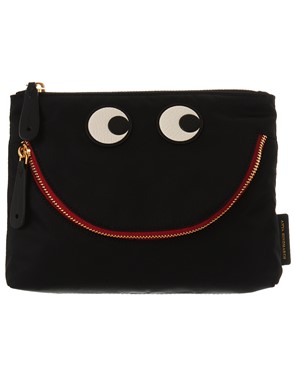 ANYA HINDMARCH - BUSTINA EYES NERO AW170631 001