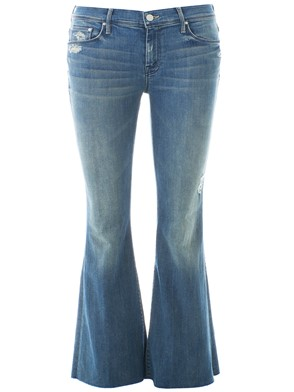MOTHER - JEANS BOOTCUT BLU