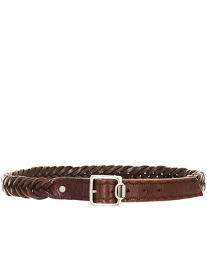 GOLDEN GOOSE DELUXE BRAND - BROWN BELT