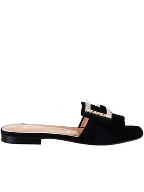 GUCCI - BLACK SLIDES