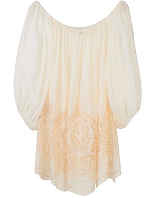 STELLA McCARTNEY - BLUSA BEIGE