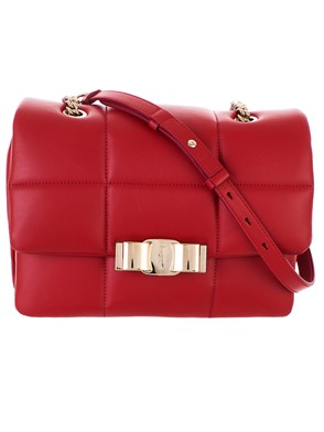 SALVATORE FERRAGAMO - RED BAG