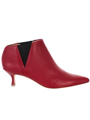GOLDEN GOOSE DELUXE BRAND - RED FAIRY ANKLE BOOTS
