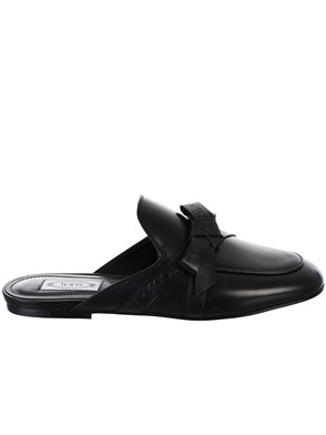TOD'S - BLACK LOAFERS
