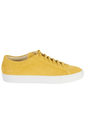COMMON PROJECTS - YELLOW ACHILLES SNEAKERS