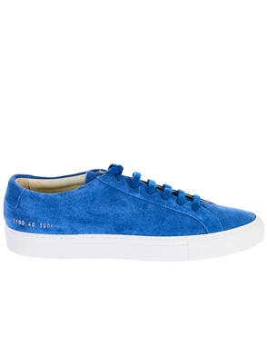COMMON PROJECTS - BLUE ACHILLES SNEAKERS