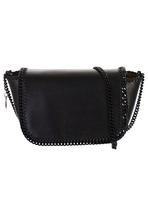 STELLA McCARTNEY - BLACK MINI CROSSBODY BAG