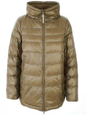 WOOLRICH JOHN RICH & BROS - CLAY COLOR CLARION DOWN JACKET