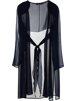 MAX MARA - BLUE GHIRBA DUSTER COAT