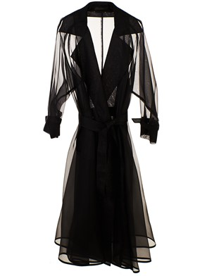 MAX MARA - BLACK POLONIA DUSTER COAT