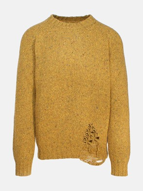 MAISON MARGIELA - HEATHER GREEN SWEATER