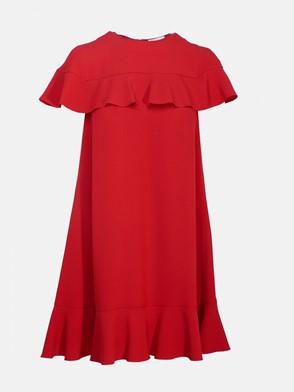 REDVALENTINO - RED MINI DRESS