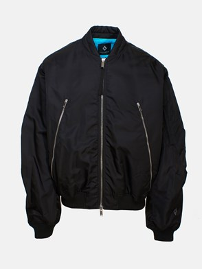 MARCELO BURLON COUNTY OF MILAN - BLACK GHOST HOUSE BOMBER JACKET