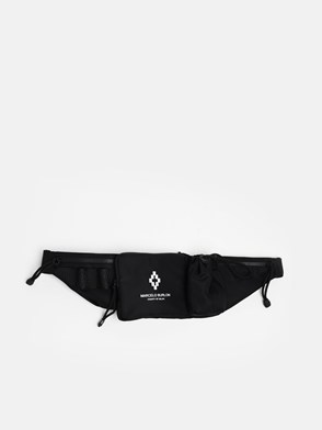 MARCELO BURLON COUNTY OF MILAN - BLACK FANNY PACK