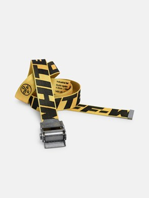 OFF WHITE - YELLOW INDUSTRIAL 2.0 BELT