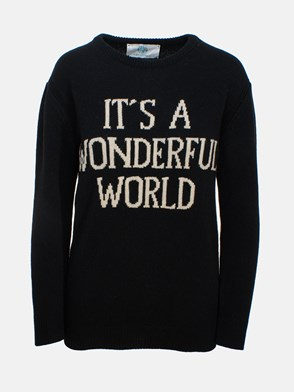 ALBERTA FERRETTI - BLACK SWEATER