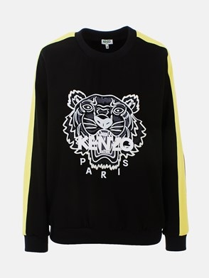 KENZO - BLACK AND YELLOW TIGER SWEATSHIRT