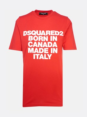 DSQUARED2 - RED T-SHIRT