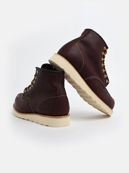 RED WING SHOES BLACK BOOTS - COD. 08138                BROWN