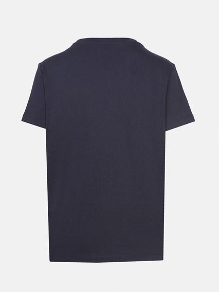 KENZO BLUE T-SHIRT - COD. F962TS809935         76