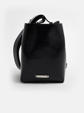 REBECCA MINKOFF - BLACK KATE BUCKET BAG