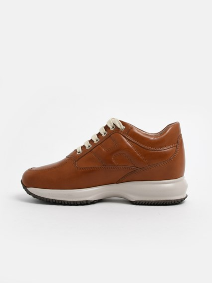 hogan BROWN INTERACTIVE SNEAKERS available on www ...