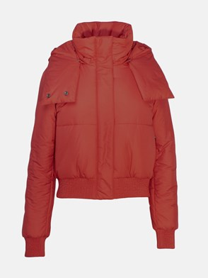 OFF WHITE c/o VIRGIL ABLOH - PIUMINO DOWNJACKET ROSSO