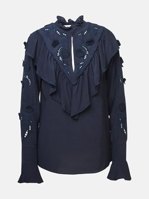 SEE BY CHLOE' - CAMICIA NAVY