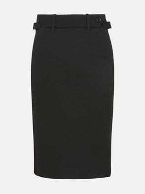 REDVALENTINO - BLACK PENCIL SKIRT