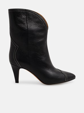 ISABEL MARANT - BLACK DYTHEY ANKLE BOOTS