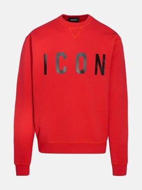 DSQUARED2 - RED ICON SWEATSHIRT