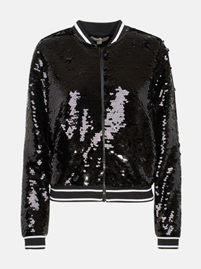 MICHAEL MICHAEL KORS - BLACK SEQUIN JACKET