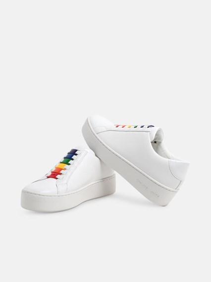 michael kors black leather sneakers