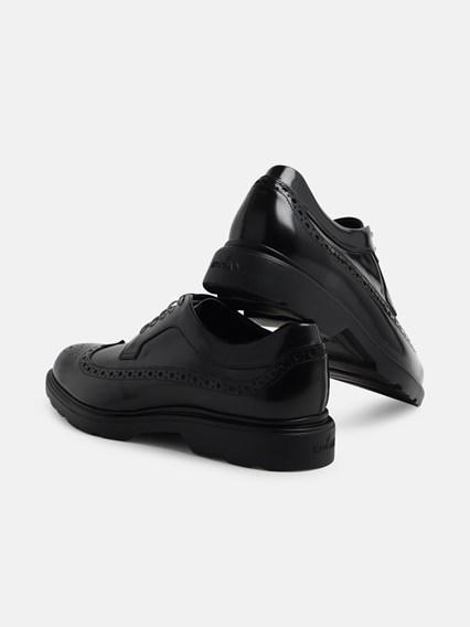 HOGAN BLACK DERBY SHOES - COD. HXM3930BX606Q6       B999