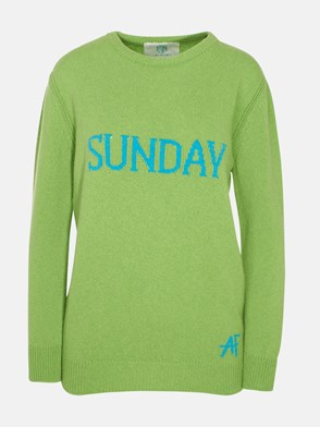 ALBERTA FERRETTI - GREEN WEEK SWEATER
