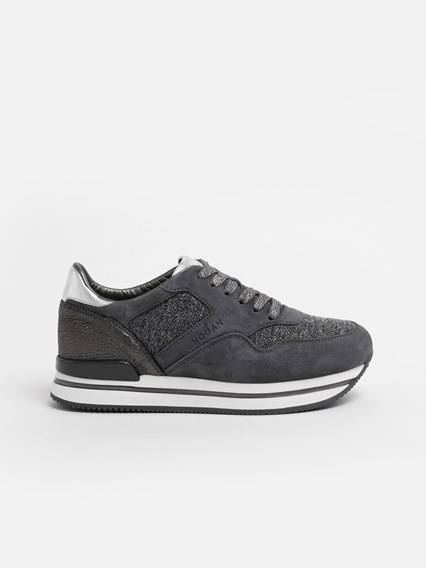 hogan GREY SNEAKERS available on www