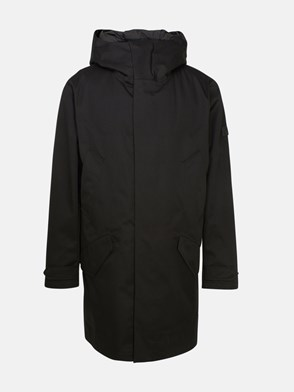 WOOLRICH JOHN RICH & BROS - PARKA FISHTAIL NERO
