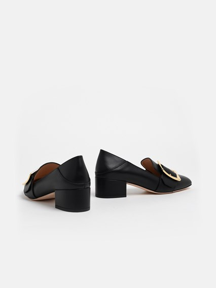 BALLY BLACK JANELLE LOAFERS - COD. 6228162              450