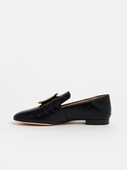 BALLY MOCASSINO JANELLE NERO - COD. 6228183              570