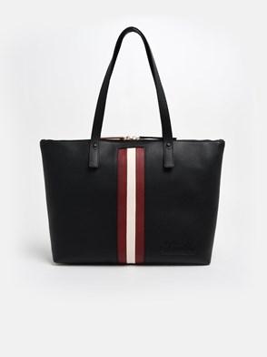 BALLY - BLACK TRACIE WEB SHOPPER BAG
