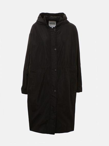 KENZO BLACK TRENCH COAT - COD. F962OU045567         99
