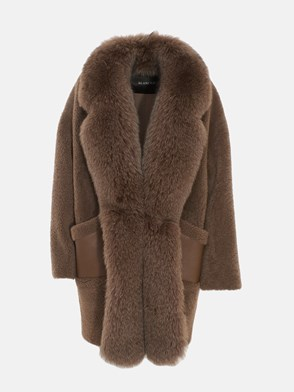 BLANCHA - BROWN COAT