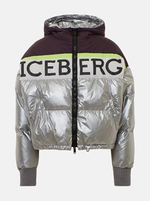 ICEBERG - SILVER DOWN JACKET