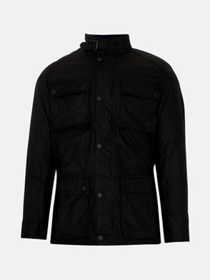 BARBOUR - BLACK HEAVY JACKET