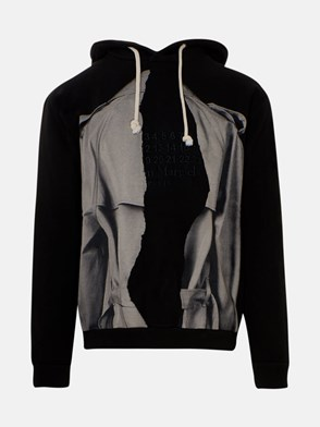 MAISON MARGIELA - BLACK SWEATSHIRT