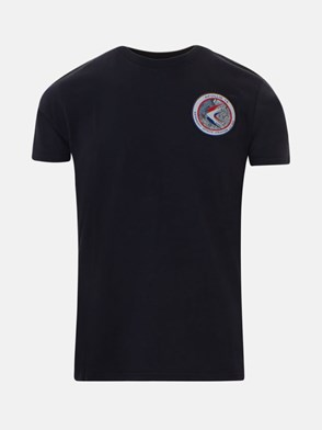 ALPHA INDUSTRIES - T-SHIRT BLU